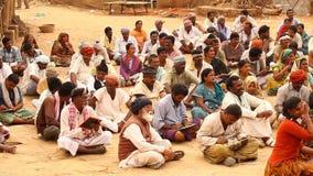恶劣的人阅读书在村庄 影视素材