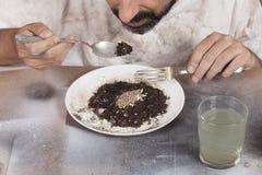 恶劣的食物 库存图片
