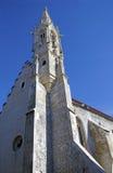 恶劣的Clares,布拉索夫,斯洛伐克的教会 库存照片