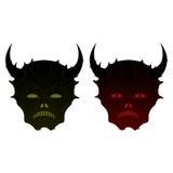 恶魔和邪魔传染媒介 免版税库存图片