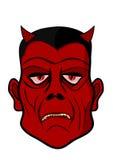 恶魔的头 免版税库存照片