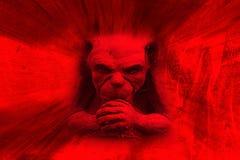 恶魔红色 免版税库存照片