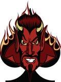 恶魔锹 免版税库存图片