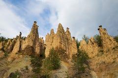 恶魔镇岩层在塞尔维亚 免版税库存图片