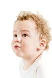 恼怒的婴孩 图库摄影