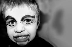 恼怒的小丑 免版税库存照片