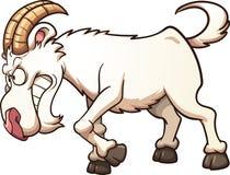 恼怒的山羊 向量例证