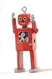 恼怒的机器人 免版税库存图片