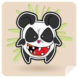 恼怒的熊猫 库存照片