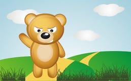 恼怒的熊 库存照片