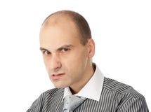 恼怒的生意人 免版税图库摄影