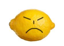 恼怒的面孔 库存图片