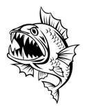 恼怒的鱼 免版税库存图片