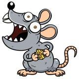 恼怒的鼠 库存例证