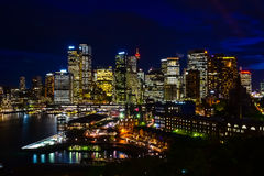 悉尼光 库存照片
