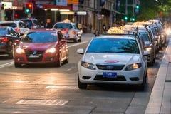 悉尼出租汽车汽车 免版税库存照片