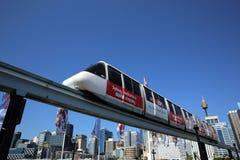 悉尼单轨 免版税库存照片