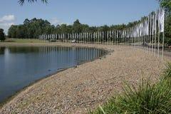 悉尼国际赛船会中心 库存图片