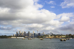 悉尼地平线 免版税库存照片