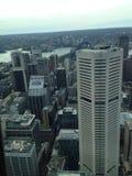 悉尼市摩天大楼 免版税库存图片