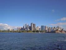 悉尼市视图 库存图片