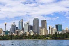 悉尼市视图 免版税库存图片