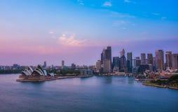 悉尼市风景 免版税库存图片