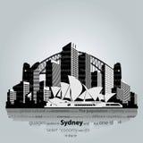 悉尼市 库存图片