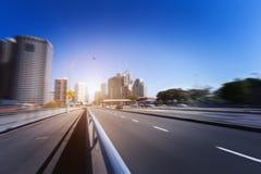 悉尼市` s公路交通 免版税库存照片