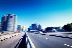 悉尼市` s公路交通 库存图片