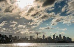 悉尼市cbd 库存图片