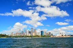 悉尼市Scape 免版税库存图片