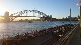 悉尼桥梁 免版税库存照片