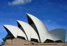悉尼歌剧院在悉尼新南威尔斯澳大利亚 免版税库存图片