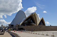 悉尼歌剧院安全 免版税库存图片