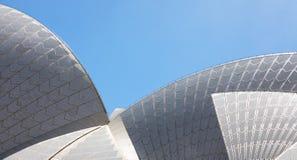 悉尼歌剧院屋顶 库存图片