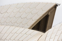 悉尼歌剧院的屋顶 库存图片