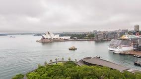 悉尼歌剧院,地平线, NSW,澳大利亚 库存图片