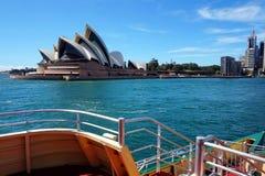 悉尼歌剧院,悉尼港口,澳大利亚 图库摄影