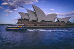 悉尼歌剧院 库存图片