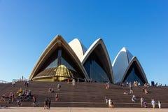 悉尼歌剧院 澳洲 免版税库存照片