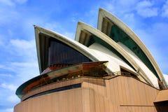 悉尼歌剧院细节  免版税库存照片