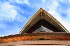 悉尼歌剧院细节  图库摄影