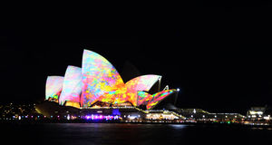 悉尼歌剧院 库存照片