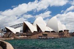 悉尼歌剧院 免版税库存照片
