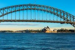 悉尼歌剧院NSW澳大利亚 免版税库存图片