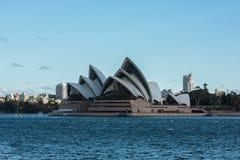 悉尼歌剧院NSW澳大利亚 免版税库存照片