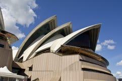 悉尼歌剧风帆 库存照片