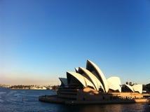 悉尼歌剧晴天夏天 免版税图库摄影