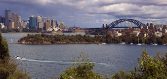 悉尼江边 免版税库存图片